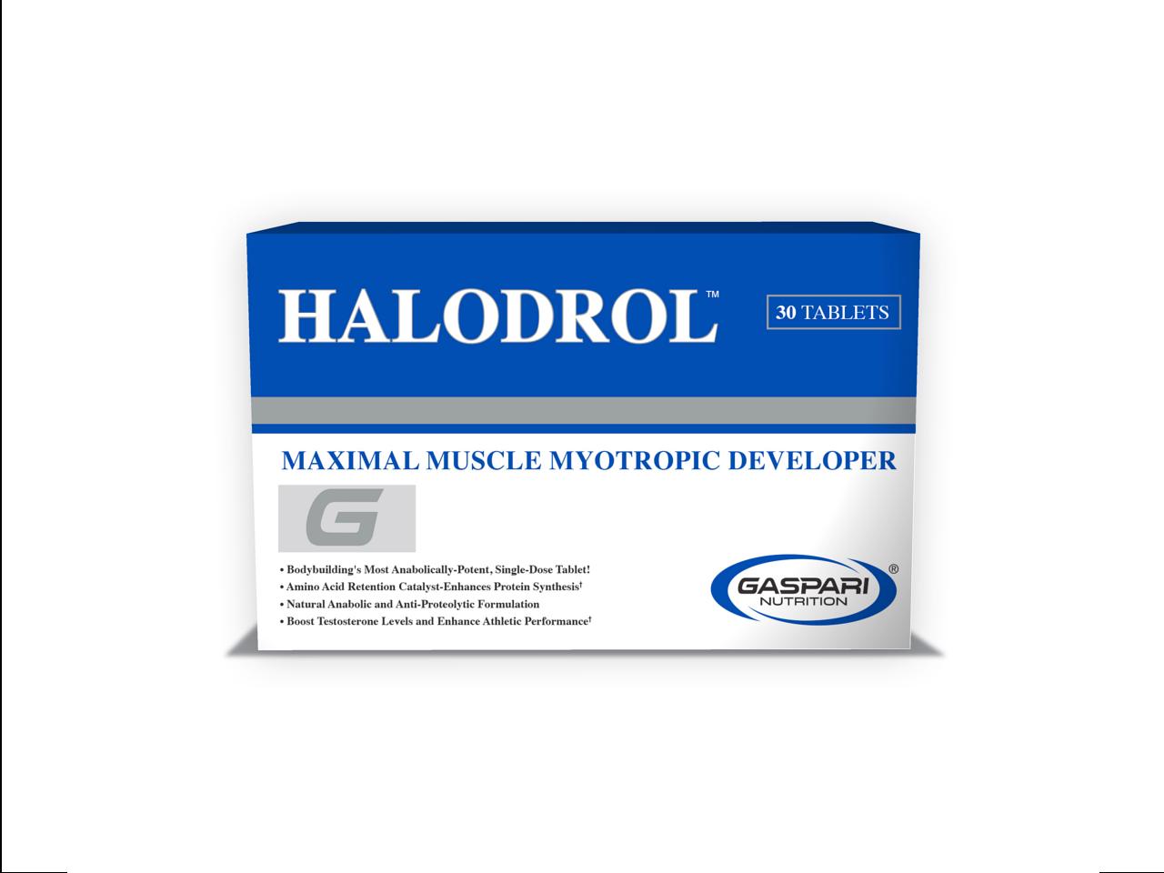 Halodrol 50 gaspari nutrition