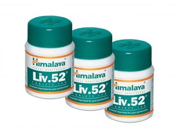 Himalaya Herbal Healthcare 3x Liv. 52 ayurvedischer Leberschutz