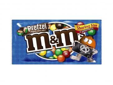 M&M's Pretzel Chocolate Candy Bag 80.2g