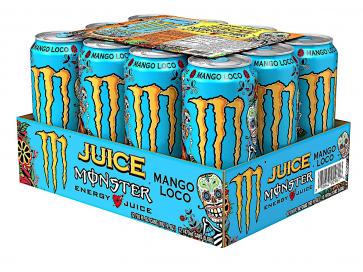 Monster Energy + Juice Mango Loco 12 x 500ml