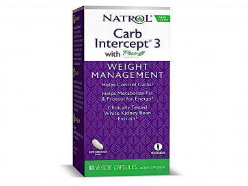 Natrol Carb Intercept 3 Kidney Bohnen Extrakt (MHD 28/02/2020)