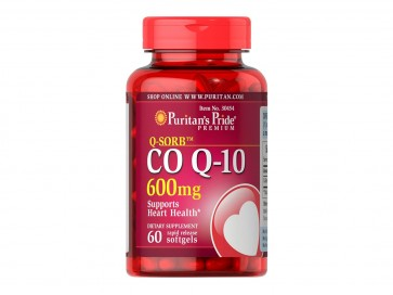 Puritan's Pride Q-SORB™ COQ-10 600 mg