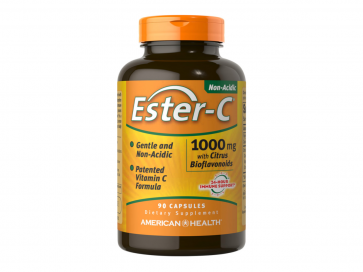 American Health Ester-C 1000 mg with Citrus Bioflavonoids
