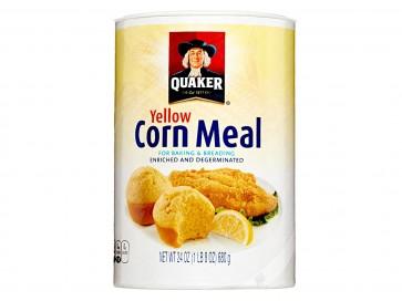 Quaker Corn Meal angereichertes und entkeimtes Maismehl 680g