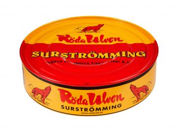 Röda Ulven Surströmming 400g / 300g - Fermentierte Heringe