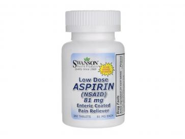 Swanson Aspirin 81mg Low Dose
