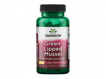 Swanson Green Lipped Mussel 500mg