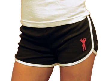 Universal Nutrition Ladies Jogging Shorts Black