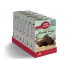 Betty Crocker Chocolate Fudge Brownie Mix (6 x 415g)