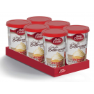 Betty Crocker Vanilla Butter Cream Icing (6 x 400g)