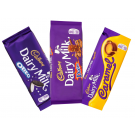 Cadbury Dairy Milk Caramel, Daim Oreo Cookies Chocolate Variety Pack (3 x 120g)