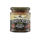 Meridian Foods Organic Smooth Almond Butter 170g