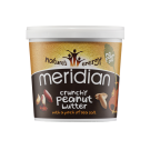 Meridian Foods Crunchy Peanut Butter With Salt 1kg