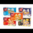 Jolly Time Microwave Popcorn Variety, Probierpaket, 5 Sorten