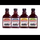 Mississippi BBQ Sauce Variety Paket 4 x 510g