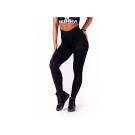 Nebbia One tone pattern leggings
