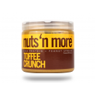 Nuts'n more Toffee Crunch Peanut Butter 454 Gramm