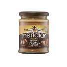Meridian Foods Organic Crunchy Peanut Butter with salt 280g