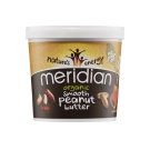 Meridian Foods Organic Smooth Peanut Butter 1kg