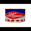 OSKARS Surströmmingfilet 440g/300g Fisch, Dose (fermentierte Heringsfilets)