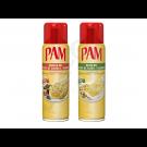 PAM Rapsöl und Olivenöl Antihaftspray EU (2x 148ml)