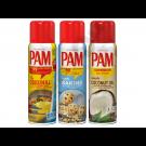 PAM Original Spray (3-Pack) PAM Original, PAM Baking, PAM Coconut Oil