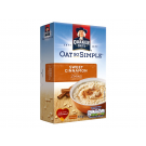 Quaker Oats Oat So Simple Sweet Cinnamon