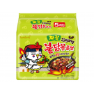 Samyang Jjajang Hot Chicken Flavour Ramen (5 x 140g)