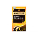 Twinings English Breakfast Tea Bags 50 Bags