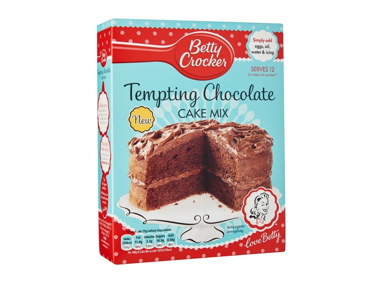 Betty Crocker Tempting Chocolate Cake Mix 425g Manufacturer