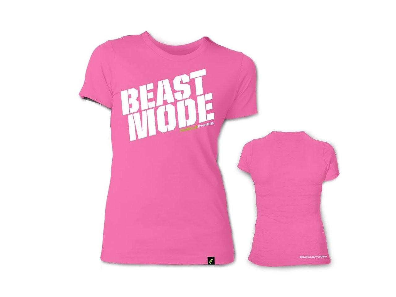 1049f662 MusclePharm Womens Beast Mode Tee Shirt