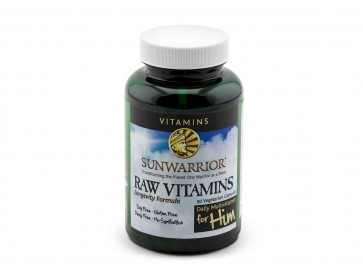 Sunwarrior Raw Vitamins for him Superfood Source