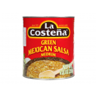 La Costeña Green Mexicana Salsa Medium 2,95kg