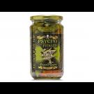 Psycho Juice® PSYCHO PICKLES - Ghost Pepper Gherkins 450g