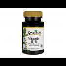 Swanson Vitamin B-6 (Pyridoxine) 100mg
