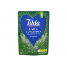 Tilda Steamed Lime & Coriander Basmati Reis 250g