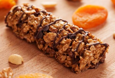 Snacks, Riegel und andere gesunde Mahlzeiten